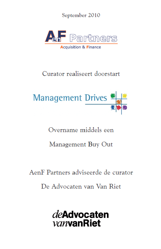 17 10 13 Management Drives